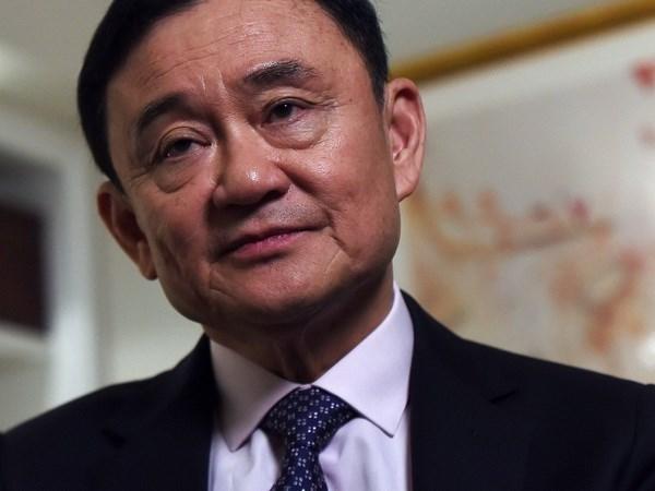 Expremier de Tailandia Thaksin llama a fortalecer unidad del Partido Pheu Thai hinh anh 1
