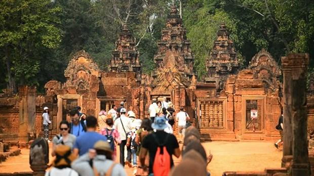 Camboya experimenta auge de turistas en ocasion de Tet hinh anh 1