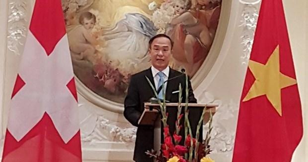 Vietnam: presidente del Grupo de embajadores de la Francofonia del mandato 2018 hinh anh 1
