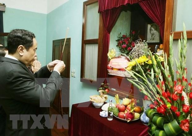 Presidente del FPV rinde tributo al maximo lider Ho Chi Minh hinh anh 1