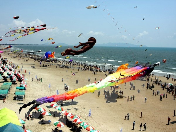Provincia sudvietnamita recibe a centenares de miles de turistas en vacaciones del Tet hinh anh 1