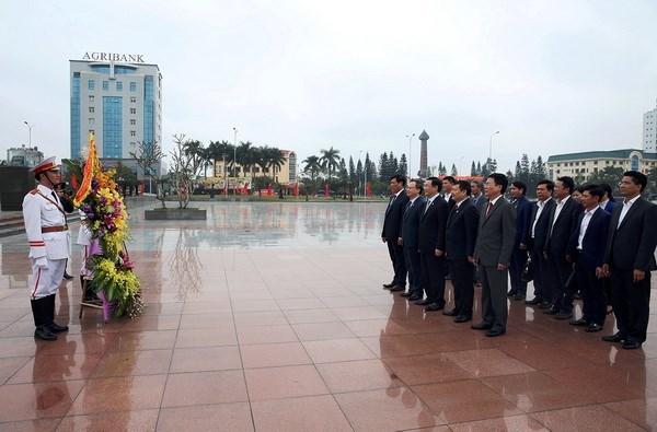 Honran a exsecretario general del Partido Comunista de Vietnam hinh anh 1