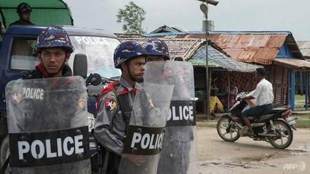 Myanmar: explosion de bomba mata a dos personas hinh anh 1