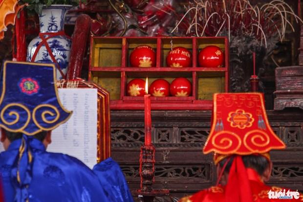Phu Tho acogera festival tradicional de pelota Phet hinh anh 1