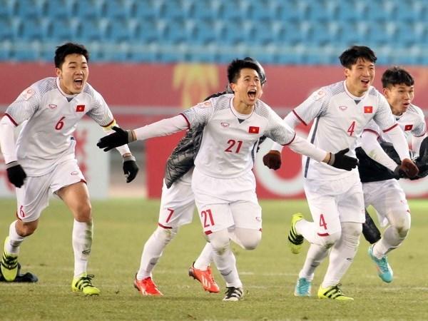 Futbol de Vietnam fija ambiciosas metas para 2018 hinh anh 1