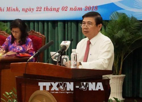 Ciudad Ho Chi Minh se propone un crecimiento economico superior a ocho por ciento hinh anh 1