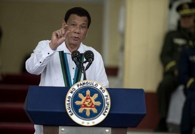 Presidente de Filipinas prohibe la participacion de tropas en guerras lideradas por EE.UU. hinh anh 1
