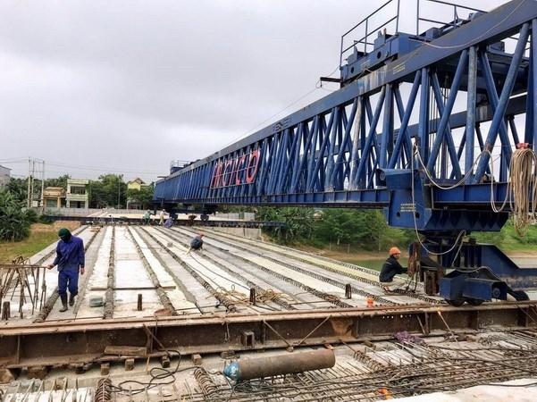 Vietnam acelera construccion de principales obras de infraestructura hinh anh 1