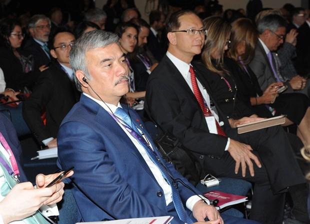 Vietnam participa en conferencia ministerial de OCDE en Mexico hinh anh 4