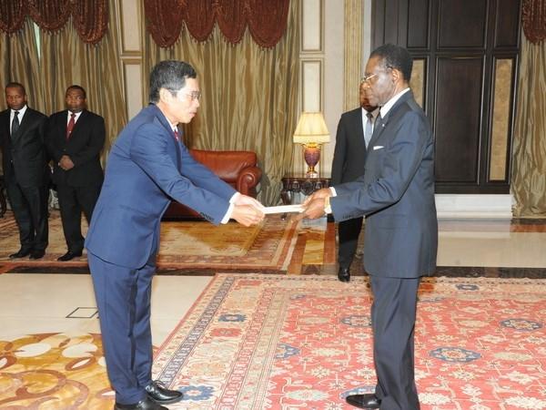 Guinea Ecuatorial desea ampliar cooperacion multisectorial con Vietnam hinh anh 1