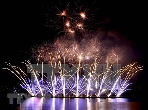 Festival internacional de fuegos artificiales de Da Nang iniciara en abril hinh anh 1