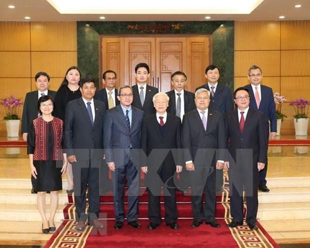 Apoyo de la ASEAN: factor importante para el avance de Vietnam hinh anh 1