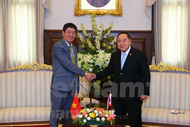 Tailandia reafirma determinacion de impulsar lazos con Vietnam en defensa hinh anh 1