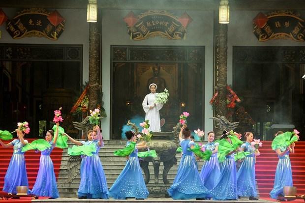 Inauguran Festival del Templo Huyen Tran hinh anh 1