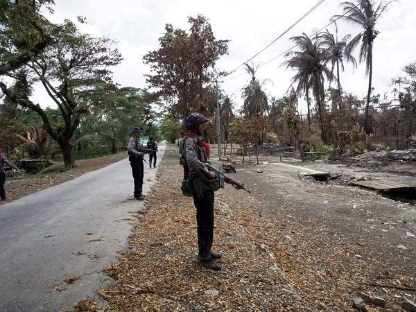 Dos heridos al estallar bombas en Myanmar hinh anh 1