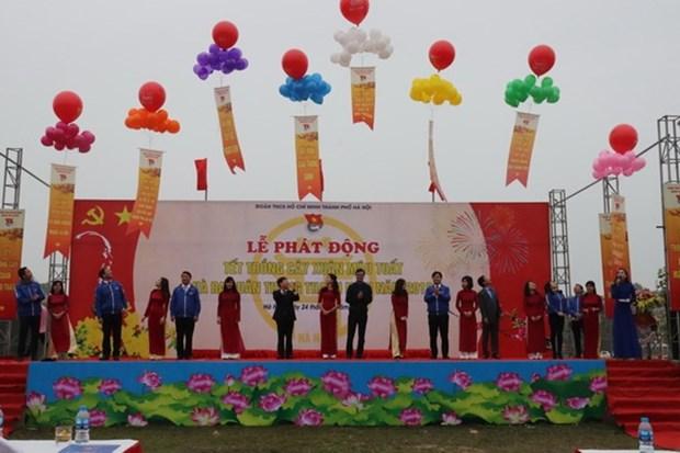 Inician en Vietnam Mes de la Juventud 2018 hinh anh 1