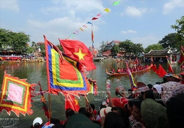 Inauguran festival en honor a uno de los santos inmortales de Vietnam hinh anh 1