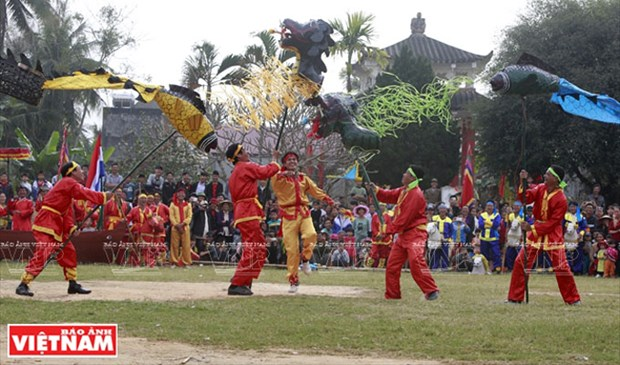 Reconocen a Festival Tro Chieng como patrimonio cultural intangible de Vietnam hinh anh 1