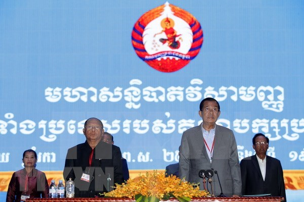 Comienza la votacion en las elecciones al Senado de Camboya hinh anh 1