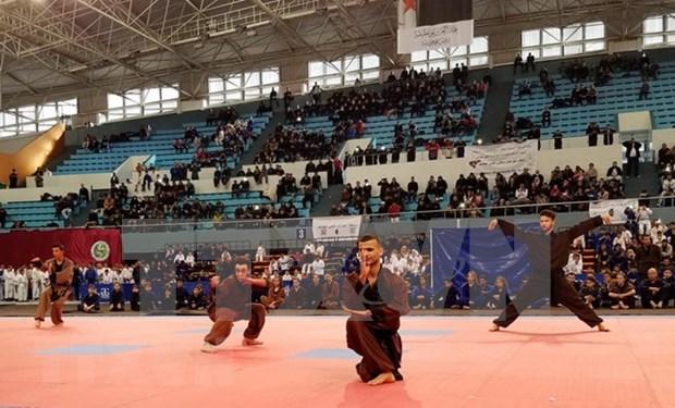 Debutan en Argelia federacion de arte marcial vietnamita Son Long Quyen Thuat hinh anh 1