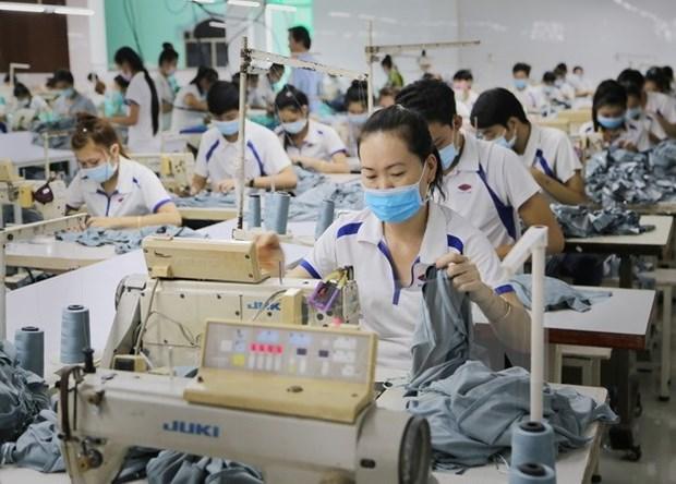 Exportaciones de confecciones textiles de Vietnam preven alcanzar 34 mil millones de dolares hinh anh 1