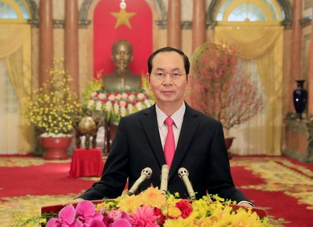 Presidente de Vietnam visitara la India y Bangladesh hinh anh 1