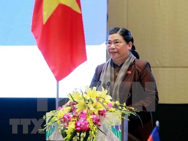 Vicepresidenta parlamentaria destaca logros del Hospital Central de Maternidad hinh anh 1