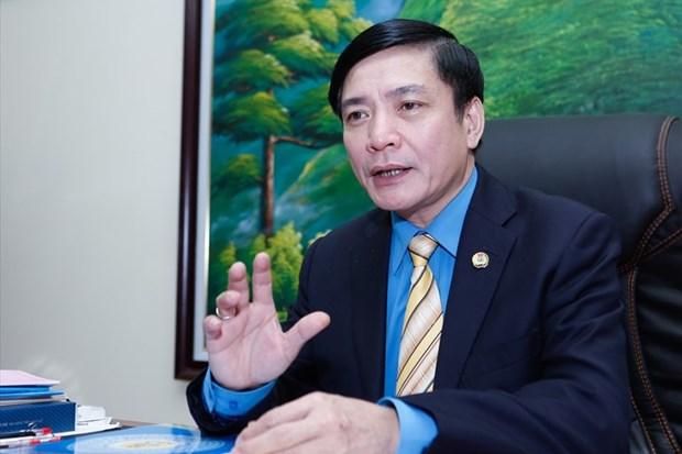 Vietnam participa en reunion de la Federacion Sindical Mundial en Teheran hinh anh 1