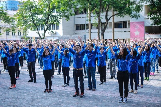 Celebran actividades sociales durante el Mes de la Juventud en Vietnam hinh anh 1
