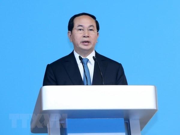 Dirigentes de Vietnam felicitan a Kuwait en ocasion de su Dia Nacional hinh anh 1