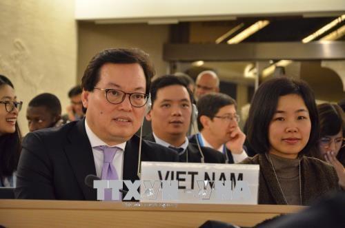Vietnam asiste a reunion 37 del Consejo de Derechos Humanos de la ONU en Ginebra hinh anh 1
