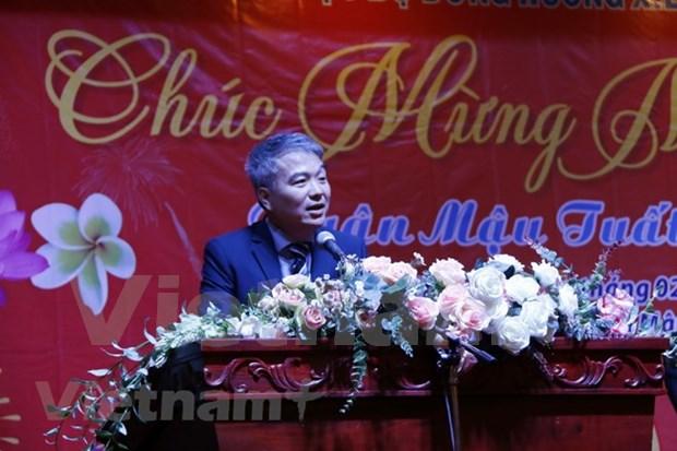 Vietnamitas en provincia laosiana se reunen por Ano Nuevo Lunar hinh anh 1