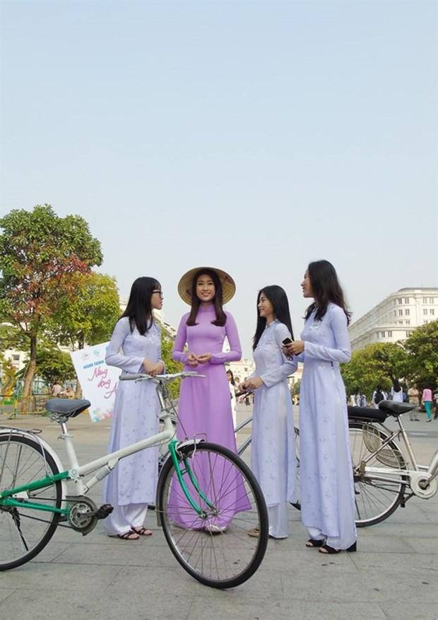 Ciudad Ho Chi Minh alista festival del Ao Dai hinh anh 1