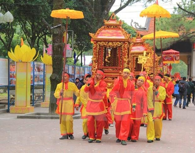 Celebraran actividades atractivas en Festival primaveral Con Son – Kiep Bac 2018 hinh anh 1