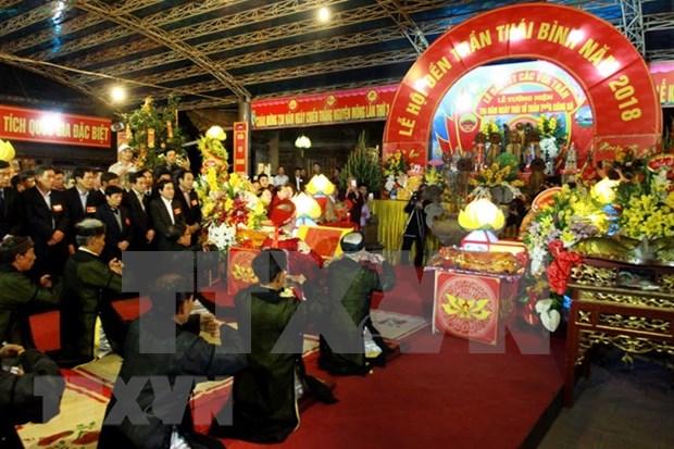 Vietnam celebra festival en homenaje a los reyes Tran hinh anh 1