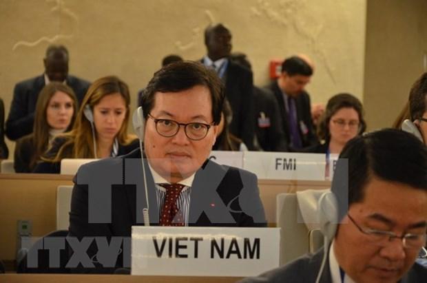 Vietnam celebra coloquio sobre TIC al margen de la reunion de Consejo de Derechos Humanos hinh anh 1
