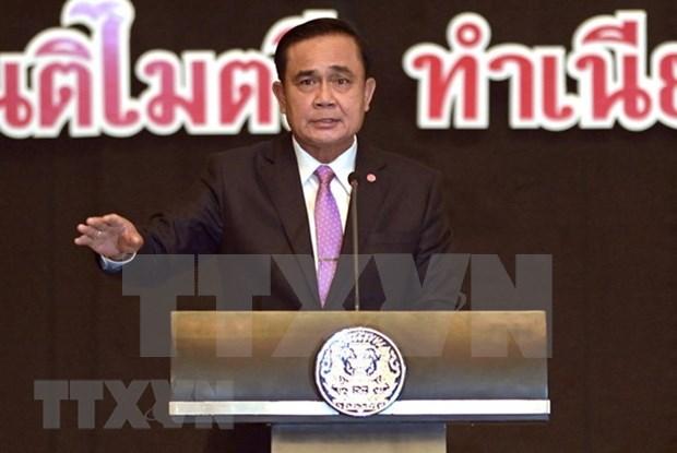 Premier tailandes afirma que eleccion general se basara en la Constitucion hinh anh 1