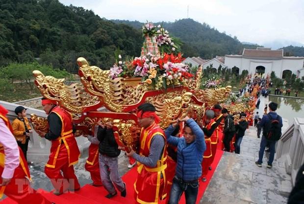 Festivales primaverales comenzaron Ano Nacional de Turismo en Quang Ninh hinh anh 1