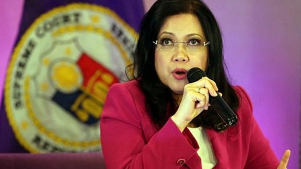 Presidenta de Corte Suprema de Filipinas cesara sus labores por tiempo indefinido hinh anh 1