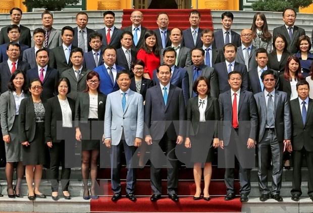 Presidente vietnamita insta a consejeros comerciales a trabajar de forma activa hinh anh 1