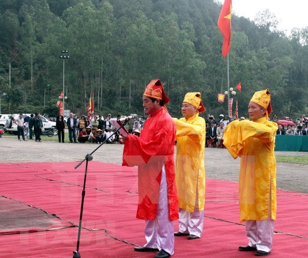 Festival Minh The, reconocido como Patrimonio Cultural Intangible de Vietnam hinh anh 1