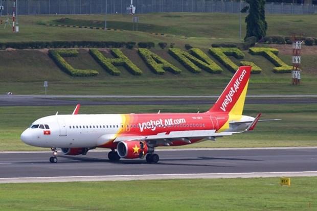 Vietjet Air explotara terminal T4 del aeropuerto singapurense de Changi hinh anh 1