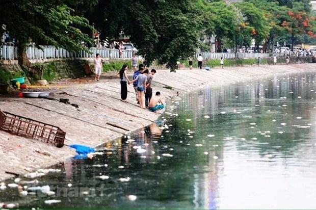 Experto urge la elaboracion en Vietnam de una ley de control de contaminacion del agua hinh anh 1