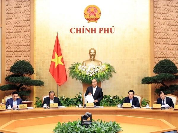 Gobierno vietnamita analiza situacion economica de febrero hinh anh 1