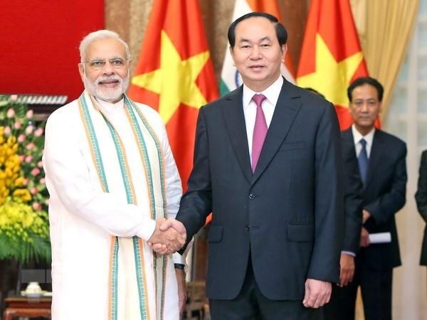 Resaltan relaciones desinteresadas Vietnam- la India hinh anh 1