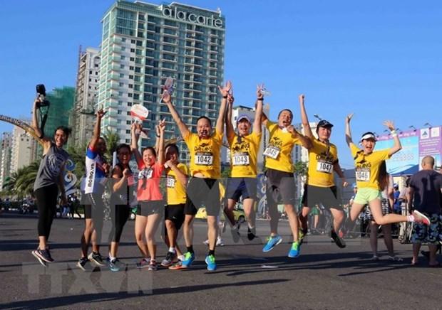 Provincias de Vietnam responden al Dia de Carrera Olimpica por salud publica 2018 hinh anh 1