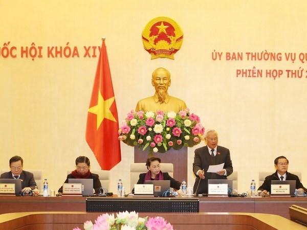 Efectuaran sesion de interpelacion en reunion 22 de Comite Permanente del Parlamento vietnamita hinh anh 1