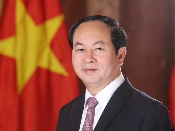 Visita de presidente Dai Quang, nuevo impulso para nexos comerciales Vietnam-Bangladesh hinh anh 1
