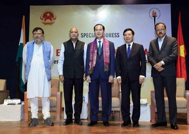 Presidente de Vietnam destaca espacio de desarrollo Oceano Indico- Asia- Pacifico hinh anh 1