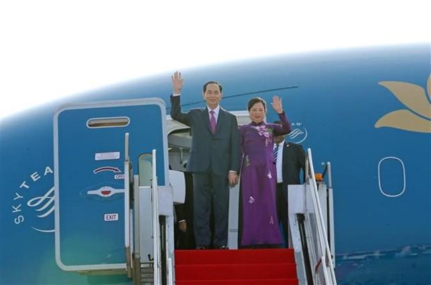 Bangladesh ofrece solemne recepcion al presidente de Vietnam hinh anh 1